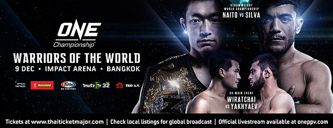 ONE Championship - WARRIORS OF THE WORLD