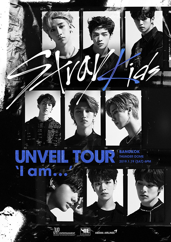 Stray Kids UNVEIL TOUR 'I am …' in BANGKOK