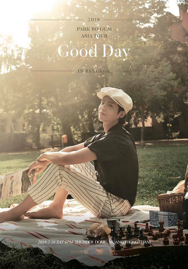 2019 Park Bo Gum Asia Tour <Good day : May your everyday be a good day