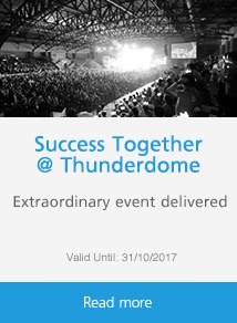 SUCCESS TOGETHER @ THUNDERDOME
